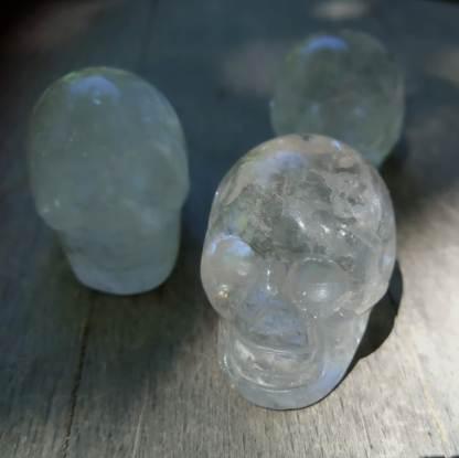 Crane cristal de roche