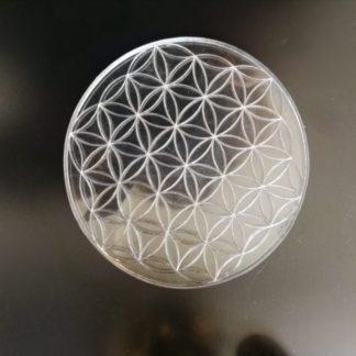 Fleur de vie en plexi transparent