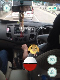 Pokedriving, Pokemon Go in Bangkok and Thailand
