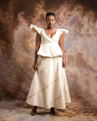 Butterfly top and wrap skirt-by-Mable-Agbodan-3