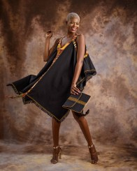 Summer-Dress-with-Kente-Hint---Black-by-Mable-Agbodan-2