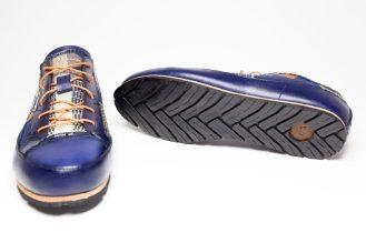 Basket conçu main en Kenté _ Handmade Sneakers in Kente by Mablé Agbodan IMG_6660