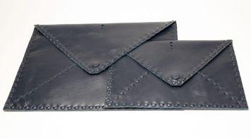 porte document en cuir conçu main _ handmade document holder in leather by Mablé Agbodan IMG_6628