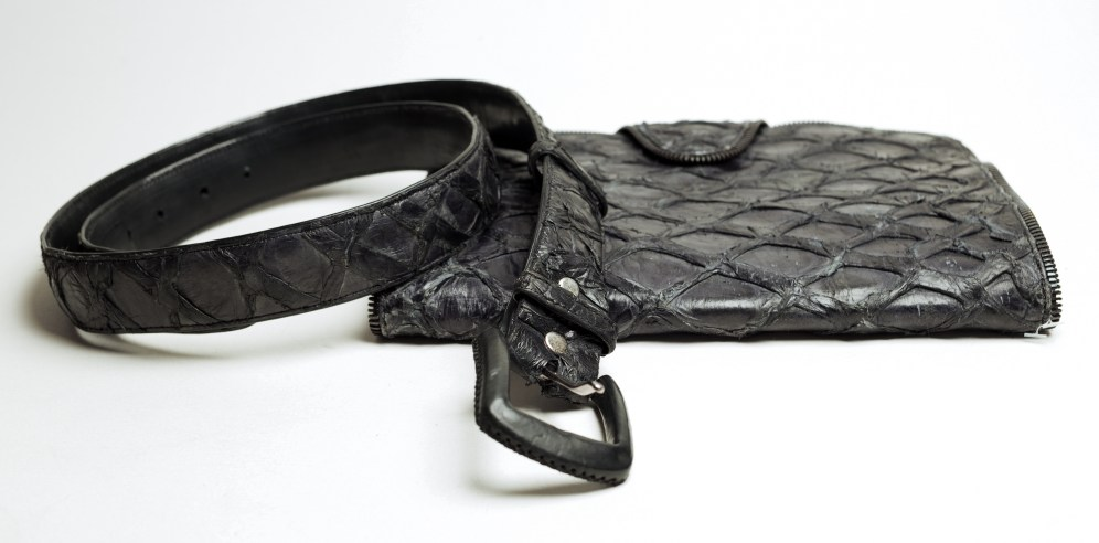 Piracuru belt and wallet by Mable Agbodan IMG_7440