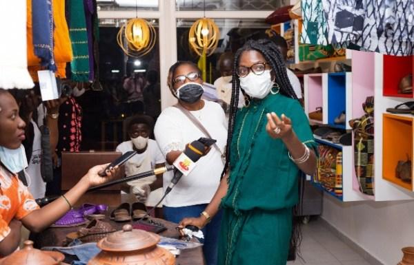 1er anniversaire de la boutique Mablé Agbodan