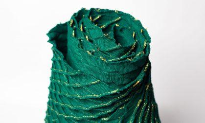 Echarpe en coton brodée by Mablé Agbodan _ IMG_6398