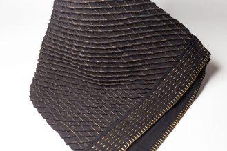 Echarpe en coton brodée by Mablé Agbodan _ IMG_6409