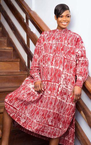 Robe rouge par Mablé Agbodan _ IMG_7212
