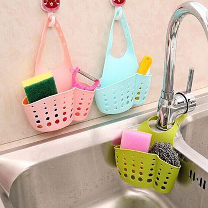 panier de rangement pour eponge et savon