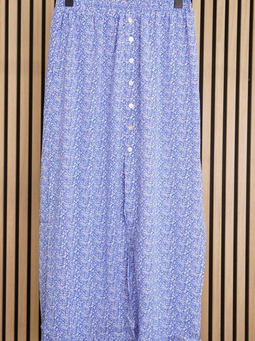 חצאית מקסי לינדה כחולה