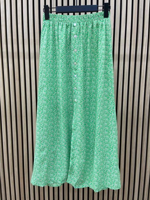 חצאית מקסי לינדה ירוקה