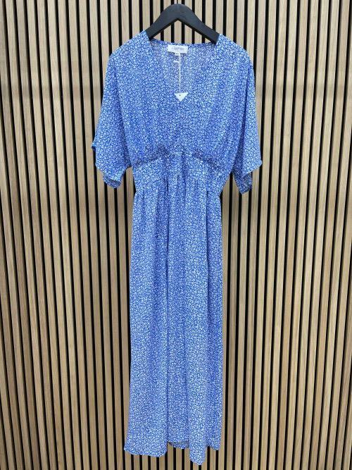 שמלה אריקה כחולה