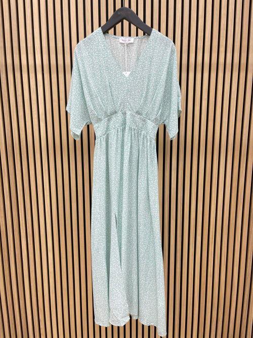 שמלה אריקה ירוקה