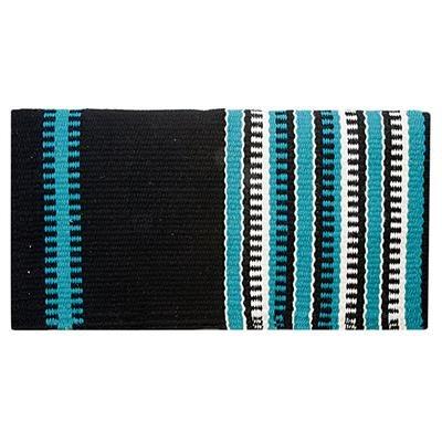 https www boutiquepepin ca tapis selle western noir turquoise lime 36x34 weaver