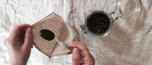 filtre a cafe reutilisable en lin bio hakuna taka