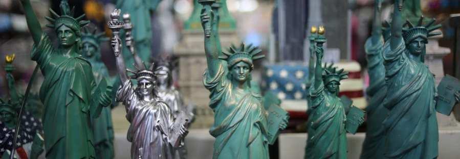 Freiheitsstatuen als Souvenirs