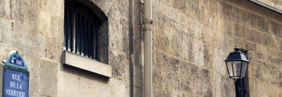 Gefängnisfenster Paris