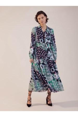 Robe longue Sinequanone imprimée
