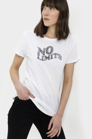 T-shirt Camel Active femme, manches courtes