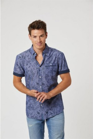 Chemise Lee Cooper homme manches courtes