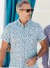 Chemise Dario Beltran manches courtes imprimé lunettes