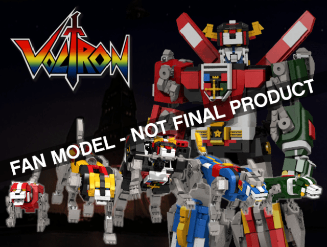 LEGO Ideas Voltron Defender of the Universe