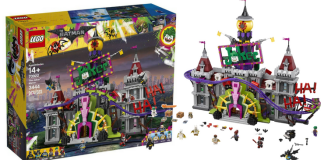 LEGO Batman Movie 70922 The Joker Manor