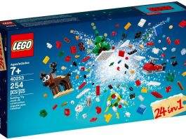 LEGO 40253 Christmas Build Up