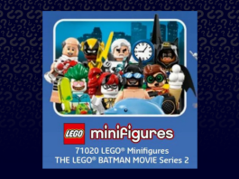 LEGO 71020 Batman Movie Collectible Minifigures series 2