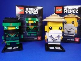LEGO BrickHeadz 41487 Lloyd - LEGO BrickHeadz 41488 Master Wu