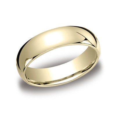 LCF160YG P1 - CLASSIC YELLOW GOLD 6MM BAND 160Y