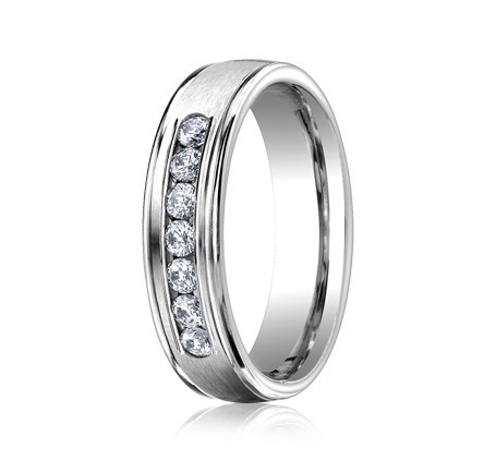 RECF516516WG P2 Copy - DIAMONDS WHITE GOLD 6MM DIAMOND BAND