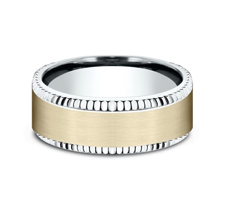 CF208527 P3 - MULTI GOLD 8MM  DESIGN BAND CF208527