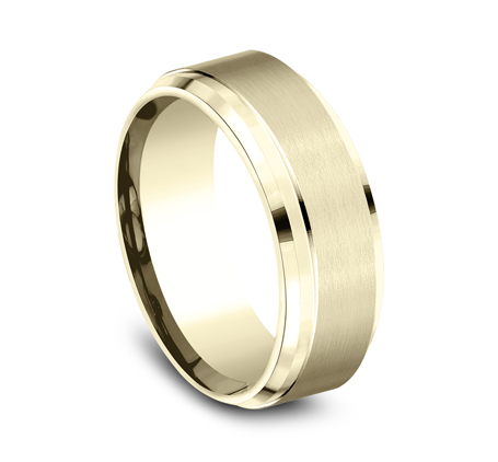CF68486Y P2 - 9MM YELLOW GOLD BAND CF68486Y