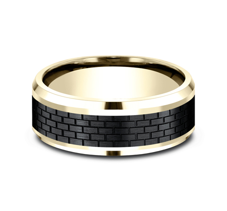 CF948331BKTY P3 - TOW PART YELLOW GOLD DESIGN BAND CF948331BKTY