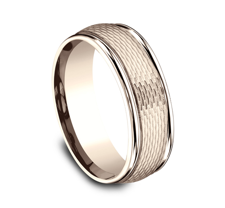 RECF87547R P2 - 7.5 MM ROSE GOLD BAND RECF87547R