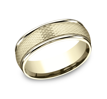 RECF87547Y P1 1 - 7.5 MM  YELLOW GOLD BAND RECF87547Y