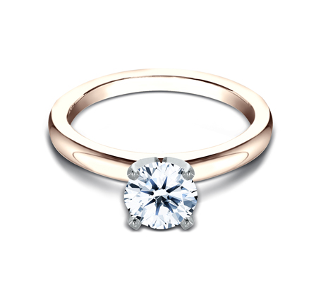 2.5MM ROSE GOLD SOLITAIREL ENGAGEMENT RING LCBSA LHRD100 R2 - 2.5MM ROSE GOLD SOLITAIREL ENGAGEMENT RING LCBSA-LHRD100-R