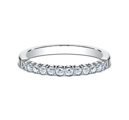 2MM PLATINUM SHARED PRONG DIAMOND BAND 552621PT 2 - 2MM PLATINUM SHARED PRONG DIAMOND BAND 552621PT