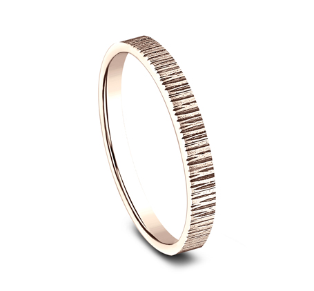 2MM ROSE GOLD STACKABLE BAND 492772R 1 - 2MM ROSE GOLD STACKABLE BAND 492772R