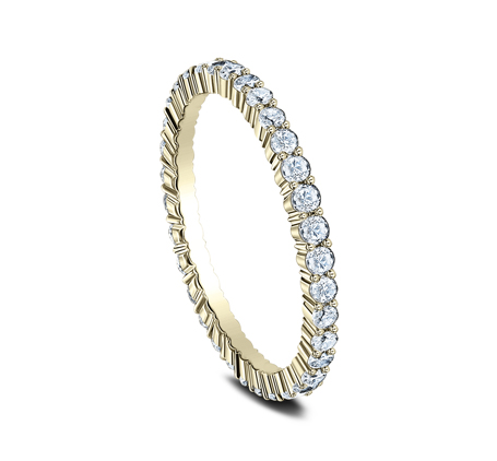 2MM SHARED PRONG ETERNITY DIAMOND BAND 552623Y 1 - 2MM SHARED PRONG ETERNITY DIAMOND BAND 552623Y