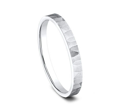 2MM WHITE GOLD STACKABLE BAND 492763W 1 - 2MM WHITE GOLD STACKABLE BAND 492763W