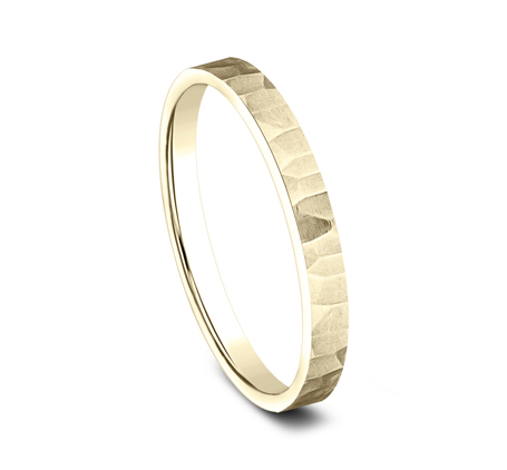 2MM YELLOW GOLD STACKABLE BAND 492763Y 1 - 2MM YELLOW GOLD STACKABLE BAND 492763Y