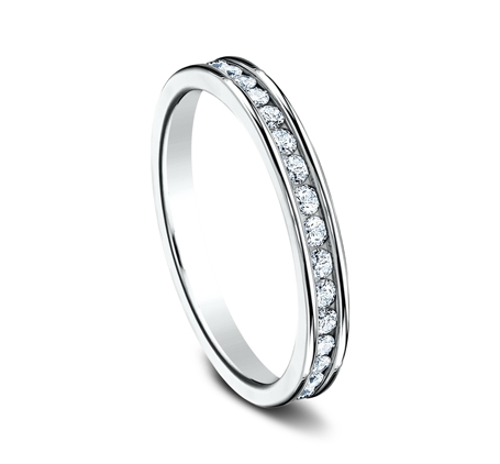 3MM ETERNITY DIAMOND BAND 513550W 1 - 3MM ETERNITY DIAMOND BAND 513550W
