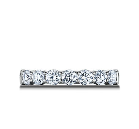 3MM WHITE GOLD CRESCENT SHARED PRONG DIAMOND BAND 5935645W 2 - 3MM WHITE GOLD CRESCENT SHARED PRONG DIAMOND BAND 5935645W