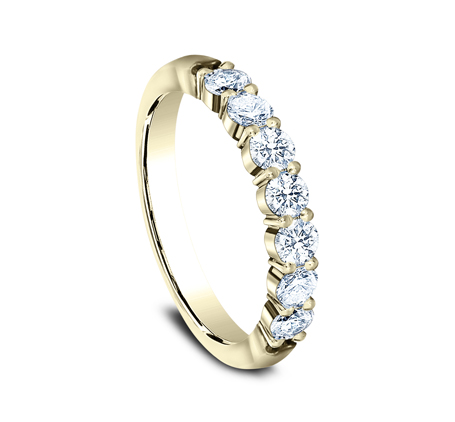 3MM YELLOW GOLD SHARED PRONG DIAMOND BAND 5535015Y 1 - 3MM YELLOW GOLD SHARED PRONG DIAMOND BAND 5535015Y