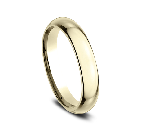 4MM YELLOW GOLD BAND HDCF140Y 1 - 4MM YELLOW GOLD BAND HDCF140Y