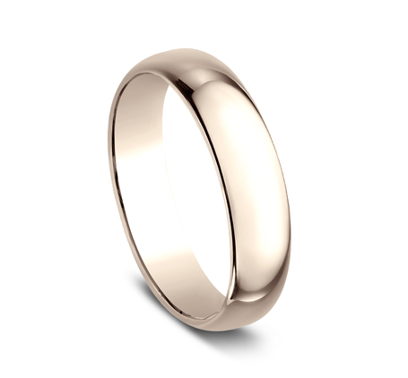 5MM ROSE GOLD BAND 150R 1 - 5MM ROSE GOLD BAND 150R
