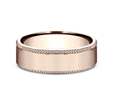 6.5MM ROSE GOLD COMFORT FIT BAND 2 - 6.5MM ROSE GOLD COMFORT-FIT BAND CF4965749R