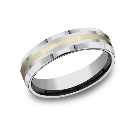 6MM COMFORT FIT TUNGSTEN BAND CF6642618KYTG - 6MM COMFORT-FIT TUNGSTEN BAND CF6642618KYTG
